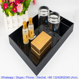 Hotel Guest Room Polish Acrylic Amenity Tray pictures & photos