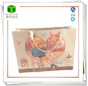 Cosmetic Bag/Beatutiful Cartoon Pattern Kraft Bag pictures & photos