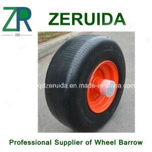 10X3.3 Inch Semi Pneumatic Rubber Wheel pictures & photos