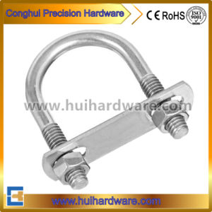 Made in China Carbon Steel Pipe Clamp U Bolt pictures & photos