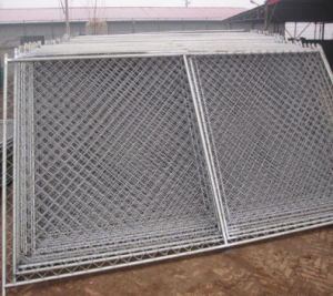 6ftx10FT American Standard Chain Link Tempoarary Fencing with Stand&Clamp pictures & photos