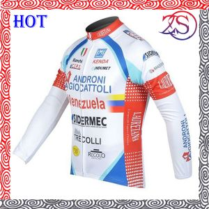 Custom Made Sublimation Winter Cycling Jersey pictures & photos