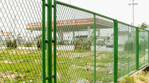 Safety Powder Coated Wire Mesh Fence pictures & photos