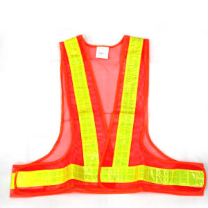 Triangle Reflective Safety Vest (Orange) . pictures & photos