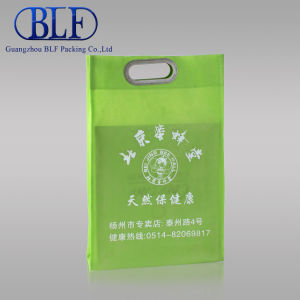 Recycle Die Cut Non Woven Bag pictures & photos