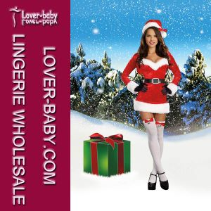 Lovely Adult Girls Sexy Santa Costume (L70916) pictures & photos