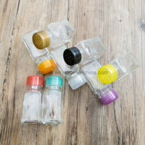 Factory Wholesale Cheap Small Transparent Glass Spice Salt Shaker (100027) pictures & photos