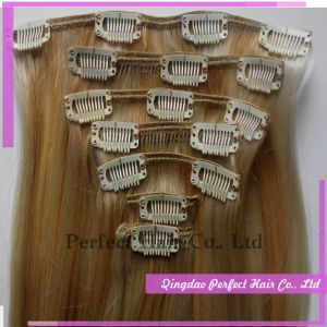 Indian Remy Clip in (100g-350g can be accecpt) pictures & photos