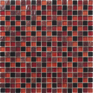 Crystal Vs Stone Mosaic Mixture Tile (M8CSPTY92)