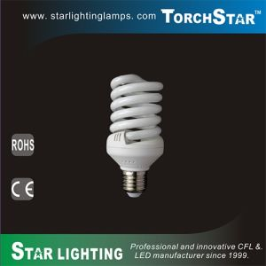 Ce RoHS Certificated 25W Full Spiral Energy Saving CFL with 8000hrs Lifetime