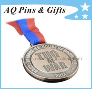 Antique Gold Medal with H Shape Ribbon pictures & photos