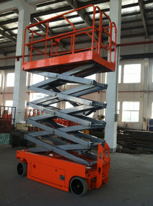 10m Electric Scissor Lift Platform for Aerial Work