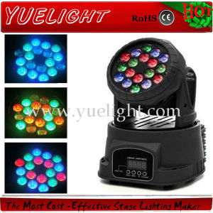 PRO 18 3W LED Mini Beam Wash Moving Head Light pictures & photos