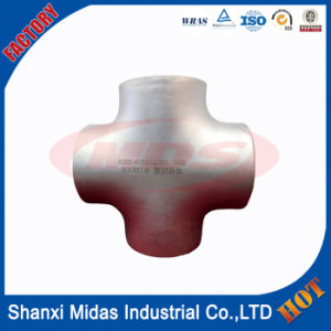 Ss304 Stainless Steel 4-Way Cross Pipe Fitting pictures & photos