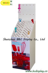 Kitchen Ware Products Cardboard Dump Bin Display Stand (B&C-A036) pictures & photos