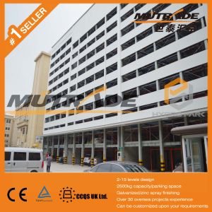 Sliding Parking System Car Stacker Parking Factory Price pictures & photos