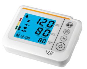 Blood Pressure Monitor with Blue Blacklit pictures & photos