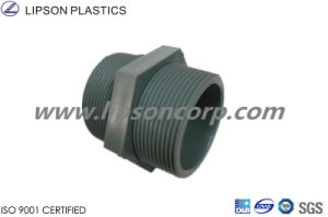 PVC Pipe Fittings Water Supply Threaded Socket Weld Nipple pictures & photos