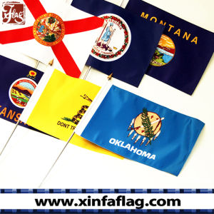 Polyester Pongee/75D Hand Waving Flags with Pole pictures & photos