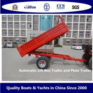 Bestyear Automatic Lift Box Trailer and Plate Trailer pictures & photos