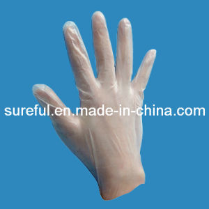 Vinyl Glove for Examination pictures & photos