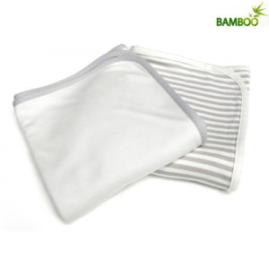 Classic Style Solid Color Cotton Baby Blanket (B008) pictures & photos