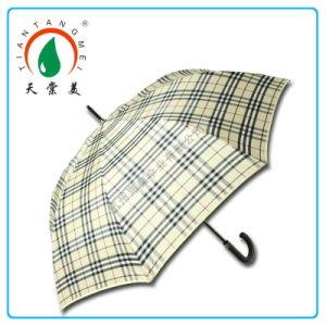 75cm′′*8k Manual Open Golf Umbrella with Fiberglass Ribs