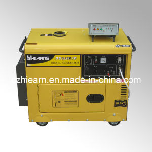 Air-Cooled Silent Type Diesel Generator Set (DG5500SE+ATS) pictures & photos