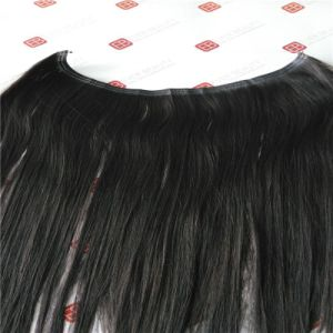 Cuticle Human Hair Flip in Tape Extensions with Top Grade pictures & photos