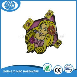 Customized Hard Enamel Metal Cartoon Badge Glassless Badge pictures & photos