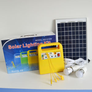 Independent AC Power Source 30W LED Economic Solar System pictures & photos