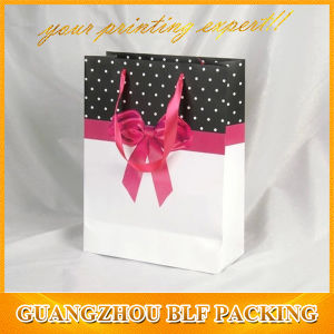 Paper Small Gift Bags with Color Printing (BLF-PB208) pictures & photos
