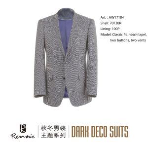 OEM Classic Fit Two Vents Men′s Blazer pictures & photos