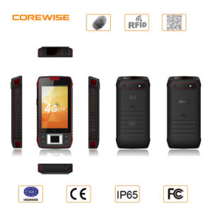 Rugged Smart Mobile Phone with Qr Code Hf RFID and Fingerprint Reader pictures & photos