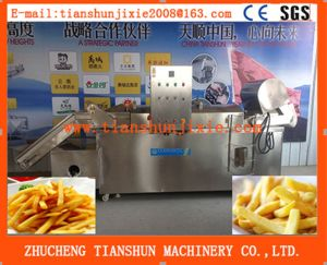 Factory Price Fryer with Oil Filter System Automatic Tszd-30 pictures & photos