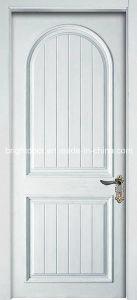Classic Interior Plain Wood Bedroom Door Panel Design for Home pictures & photos