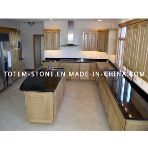Wholesale Price Black Stone Granite Countertop for Kitchen pictures & photos