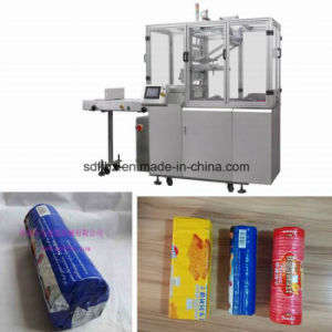 Automatic X Fold on Edge Biscuit on Edge Packing/ Wrapping Machine pictures & photos