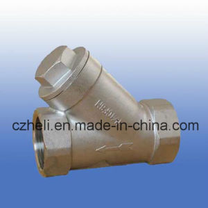 Y Type Spring Check Valve Ss316 800wog pictures & photos
