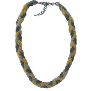 Braided Chains Necklace (N13197)