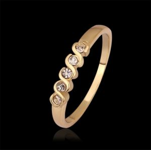 Wholesale 18k Gold Plated Fashion Womens Rings Jewelry Kr565