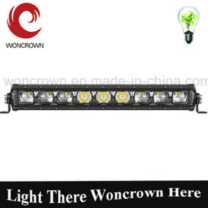 Ultra Bright Single Row Woncrown LED Light Bar for 4X4 Offroad Trucks Boat RV Campers pictures & photos