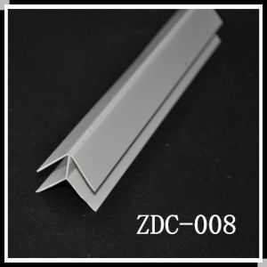 PVC External Jointer & PVC Trim & PVC Skirting for PVC Panel (ZDC-008)