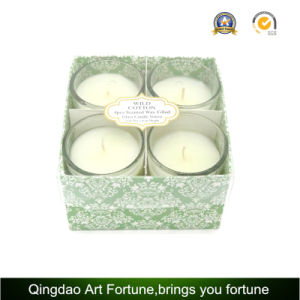 Wholesale Set 4 Fragrance Scented Glass Votive Candles for Home Decor and Gift Promotion pictures & photos