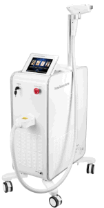 Freezing Painless Professional 808 Nm Diode Laser Hair Removal Machine pictures & photos