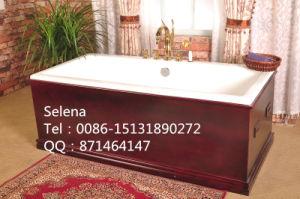 Luxury Built-in Cast Iron Bathtub Sw-1011