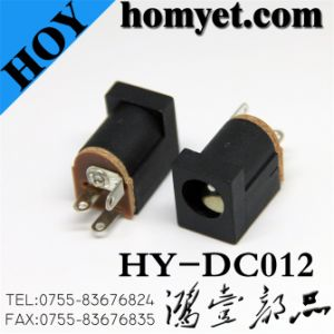 DIP Straight DC Power Jack/DC Connector (DC-012) pictures & photos