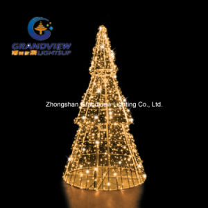 Warm White 3D Pine LED Christmas Tree pictures & photos