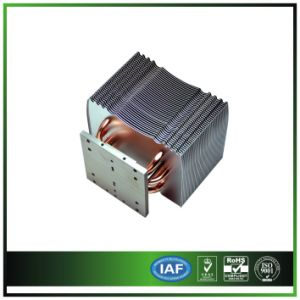 120W LED Stage Lamp Heatsink with 4 PCS Heatpipe pictures & photos