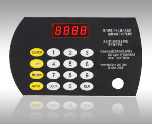 Electronic Hotel Safe Lock with Swipe Card (SJ8141) pictures & photos